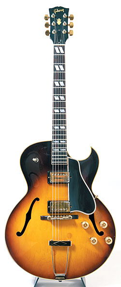 This '58 Gibson ES-175 is Carl Verheyen's primary jazz guitar