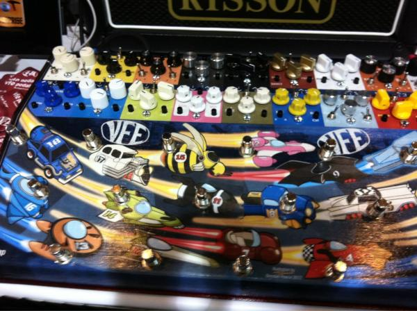 For the guitarist who has it all - this gigantic VFE pedal includes all of the company's offerings and then some.