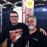 VG's Gil Hembree with Jerry Amalfitano (Amalfitano Pickups).