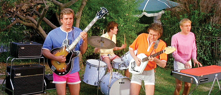 Reluctant endorsers the Bobby Fuller 4.