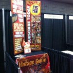 Vintage Guitar booth at Summer NAMM 2012