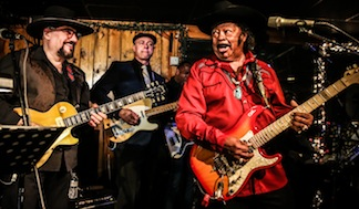 Deke Dickerson tribute to New Orleans Music Jimmy Vivino Deke Guitar Shorty by Greg Vorobiov