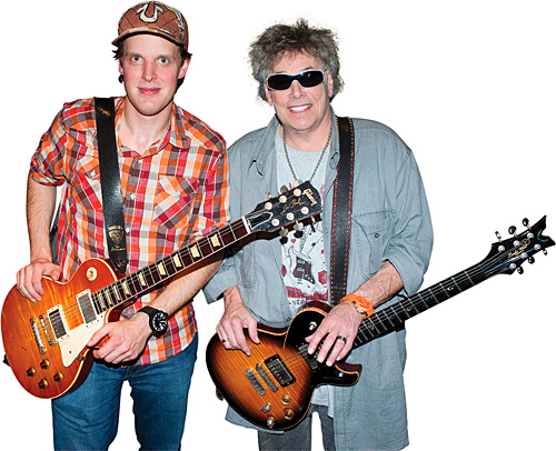 Leslie West with Joe Bonamassa