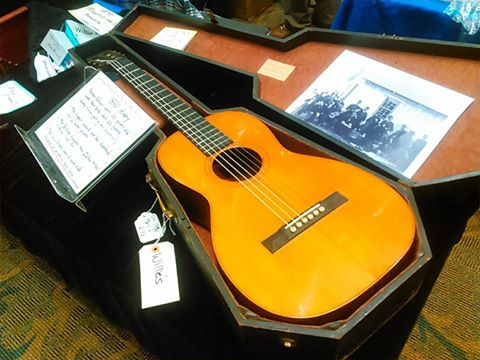 Willie's American Guitars is showing us a piece of guitar history with this 1870 C.F. Martin guitar. Guitarlington 2017