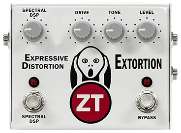 ZT Amplifiers adds Extortion pedal to product line.