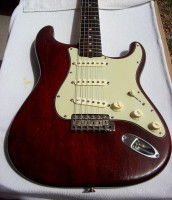 Vintage 1961 Fender Stratocaster /All origional except 40 year old refin/Went from Sunburst- Cherry