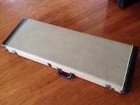1963 Fender Jazzmaster, Jaguar case - white tolex!