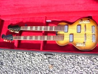 Hofner Model 191 Double Neck Guitar & Bass