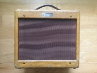 1959 FENDER CHAMP AMP TWEED VINTAGE 5F1 - EXCELLENT CONDITION