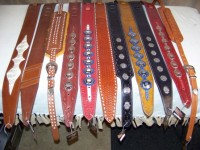 Handmade Leather Guitar Straps