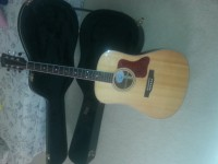 Gibson DSM acoustic guitar and Gibson Case made in Canada