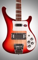 Rickenbacker 2015 Fireglo Bass W/Vintage hard case rare hot
