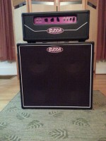 Budda twinmaster head and 4x10 cab 1997 CLEAN!