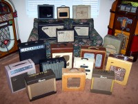 Large Collection of Classic Vintage Tube Amps for Sale