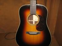 Martin Guitar D-28 Marquis Sunburst