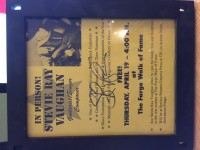 SRV Autograph (EPPERSON Authenticated)