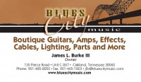 Blues City Music in Memphis, Tennessee