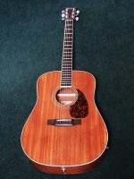 LARRIVEE D-05MT - SOLID MAHOGANY RARE HAND CRAFTED ACOUSTIC GUITAR / COLLECTORS DREAM - WARM BLUESY