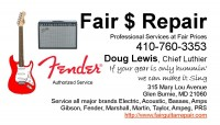 Guitar and Amp repair _ Baltimore