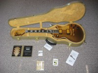 Gibson 50th Anniversary Gold Limited Les Paul Custom - only 157 made!