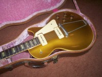 52 Gibson Les Paul Gold Top