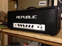 "Republic Amps ""Pagan"" 30 watt head"