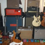 amps, guitars, pedals