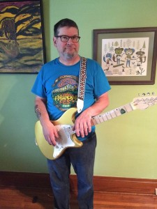 Brian Lovely with his John Page Classic Ashburn