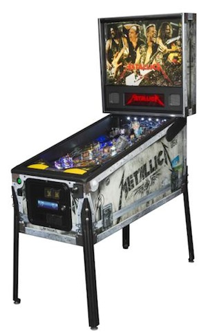 Stern Metallica pinball machien