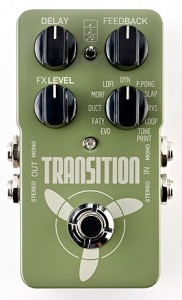 TC Electronic, Guitar Center Offer Transition Delay