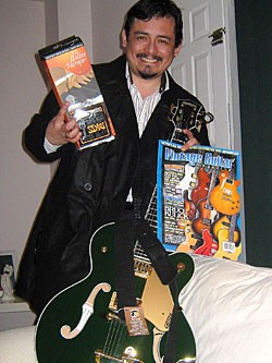 Miguel our Tragic Broken Guitar Contest - Facebook Winner