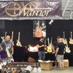 The Warrior booth.