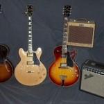 Gibson guitars/Fender amps