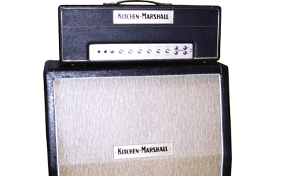 With An Alternative Look And Badge, These Creations By Marshall For The  Kitchen Music Chain In North London Often Included Minor Circuit Twists, ...