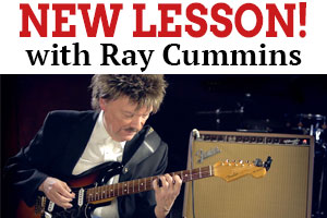 Ray Cummins' latest lesson changes things up by mixing country, jazz, and blues.