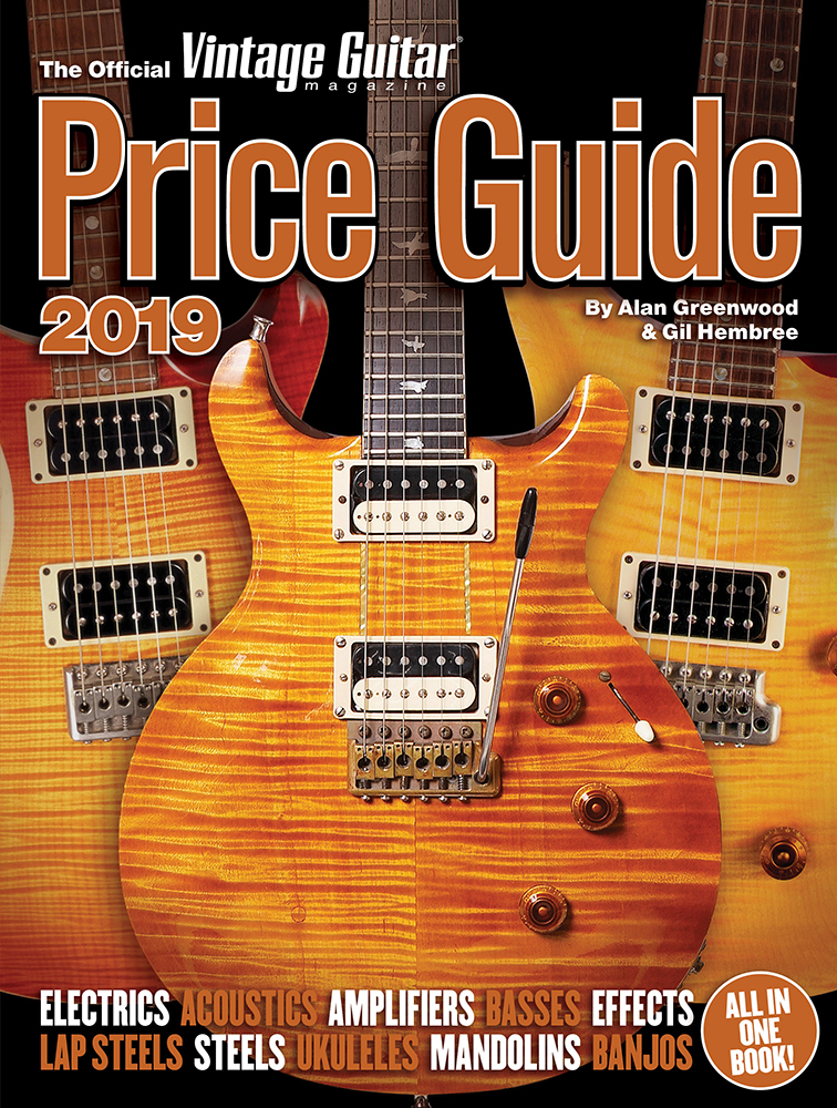 The Official Vintage Guitar Price Guide 2019 gathers input from 35 of the world's foremost expert dealers, each of whom brings decades of experience in the ...