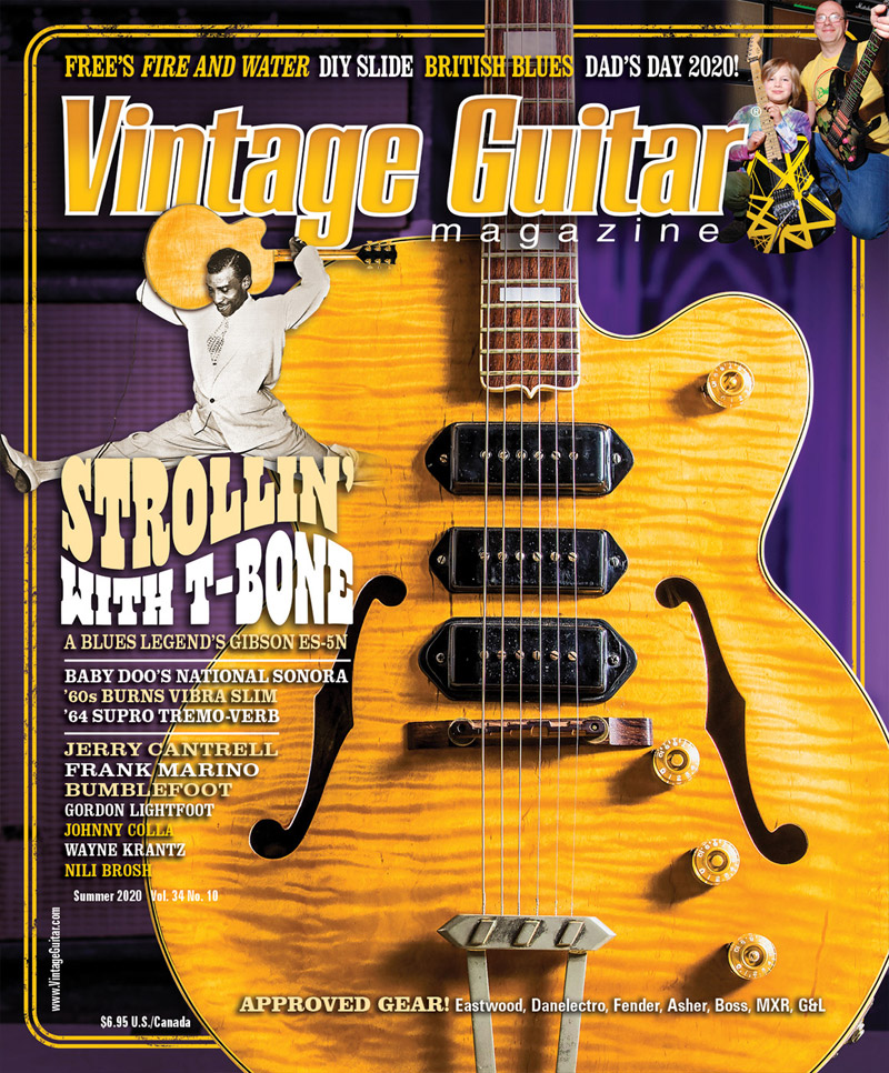 Vintage Guitar magazine summer 2020 T-Bone Walker