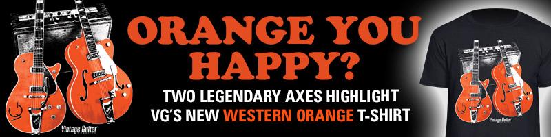 Western Orange t-Shirt