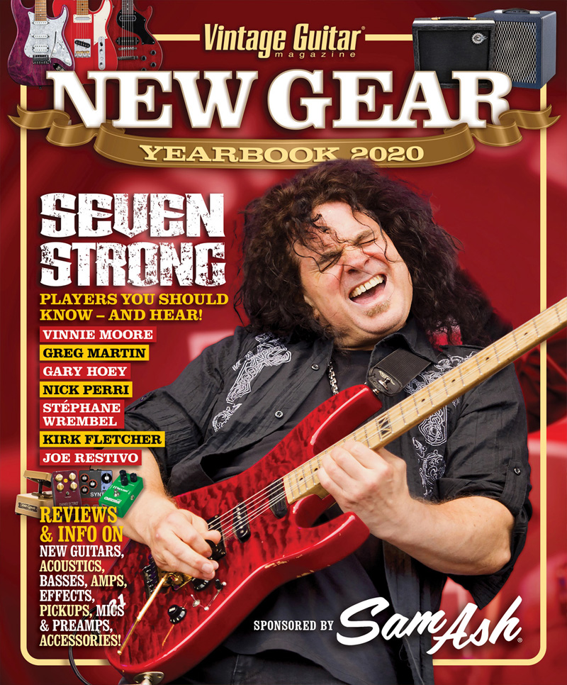New Gear Yearbook 2020 Vinnie Moore