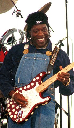 Buddy Guy, Bayfront Blues Festival, 1997