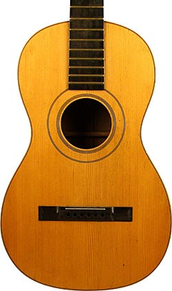 Circa 1850 James Ashborn guitar.