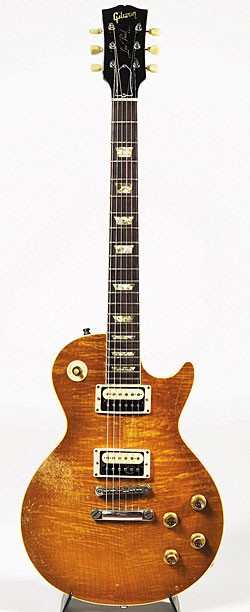 Les Paul Standard replica built by Chris Deering.
