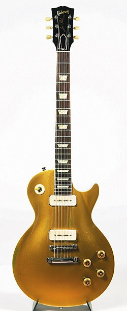 1956 Gibson Les Paul (goldtop).