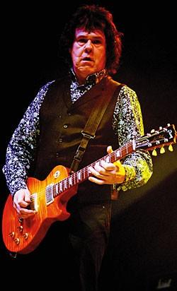 Gary moore vintage guitar magazine - Gibson gary moore ...