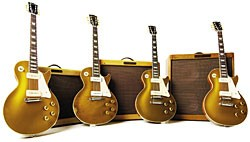 Group Goldtops Gibson From 1956