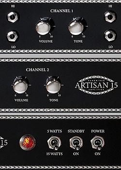 blackstar artisan 15 and 30 amps vintage guitar magazine. Black Bedroom Furniture Sets. Home Design Ideas