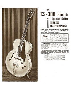 Gibson brochure from October, 1940