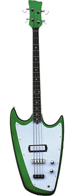 Hallmark Vintage Series Swept-Wing in Alien Sparkle Green