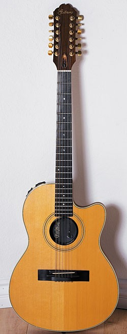 Mars beat Jerry Garcia to the punch to get this Gibson Chet Atkins SST 12-string steel