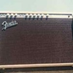 62 Fender Blonde Twin Amp